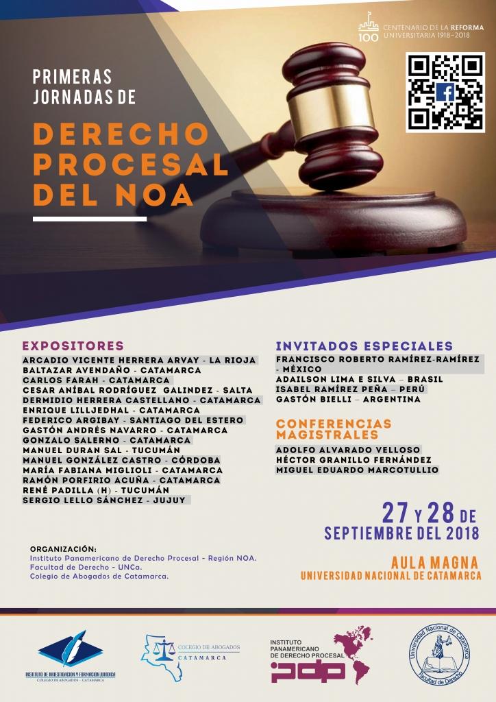 Primeras Jornadas de Derecho Procesal del NOA