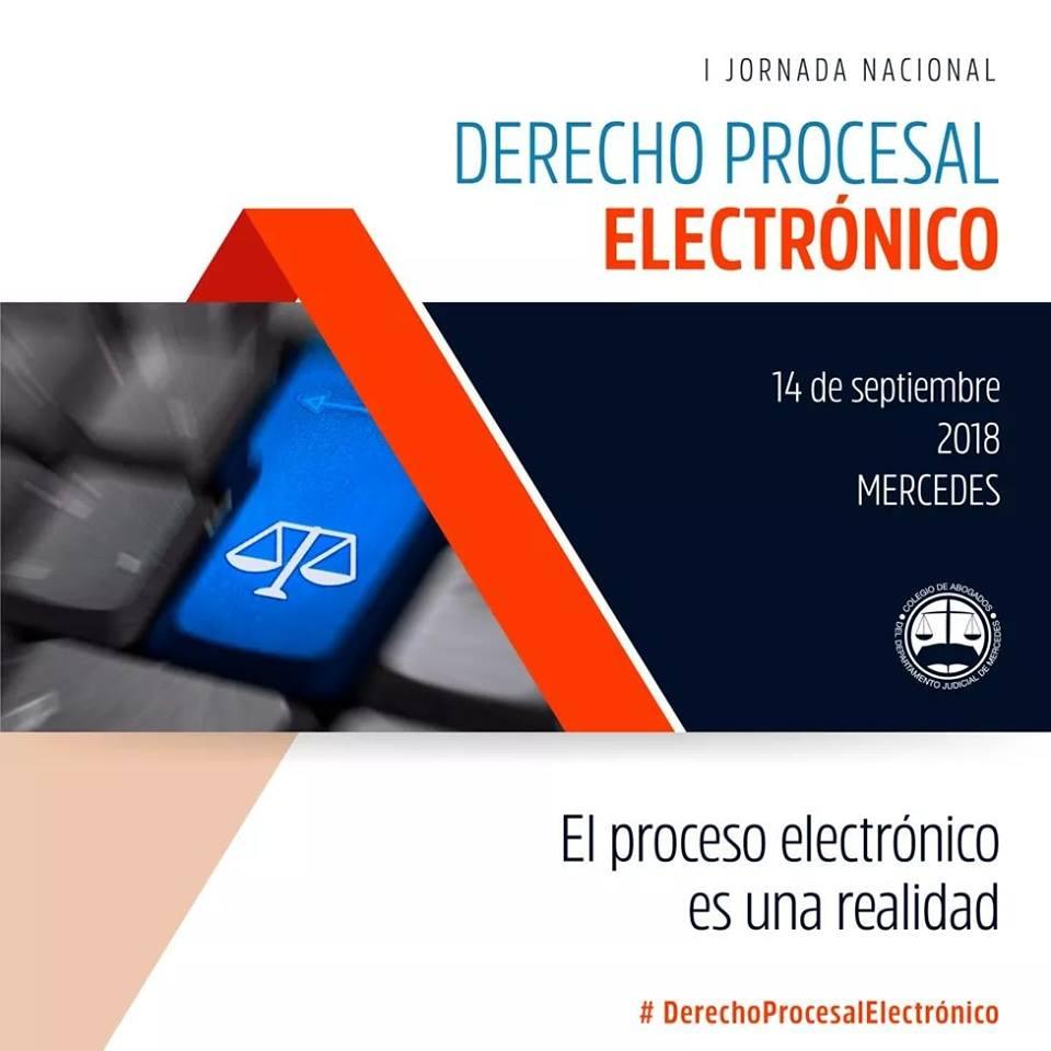 I Jornada Nacional de Derecho Procesal Electronico